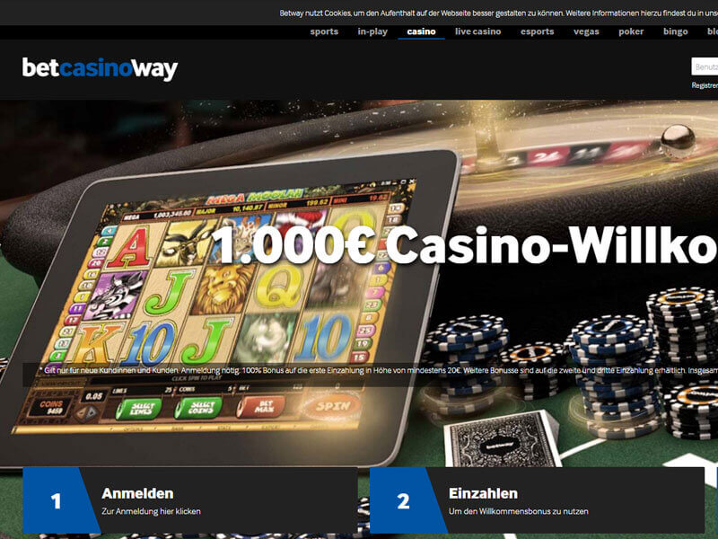 Betway Casino Bonus Terms