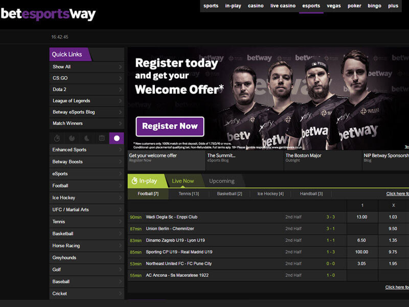 welcome offer sports betway
