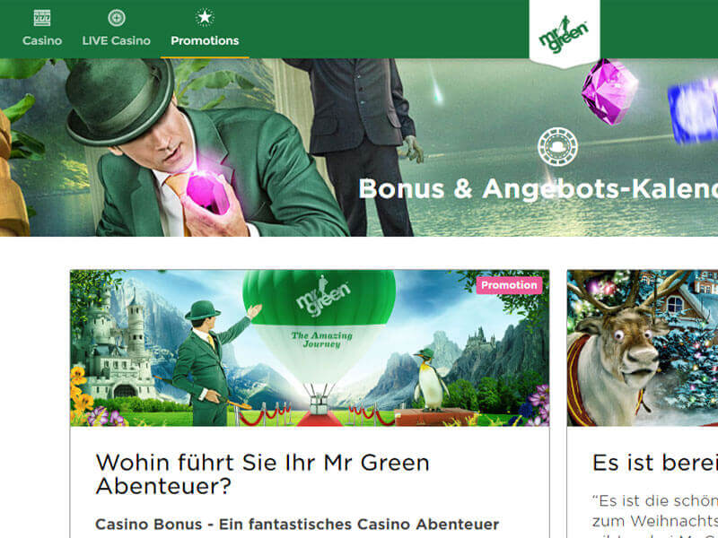 Mr Green Casino Bewertung